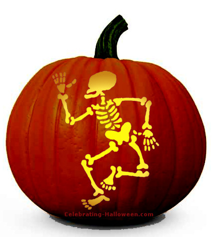 skeleton-pumpkin-carving-pattern