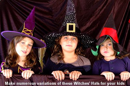 Witches' Hats - DIY Costume Project for Halloween