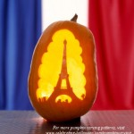 Eiffel Tower – Free Pumpkin Carving Pattern