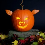 Scary Pig Pumpkin – Pumpkin Carving Ideas for Halloween