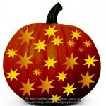 Stars – Free Pumpkin Carving Pattern