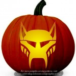 Halloween Transformers Stencil 10 – Free Pumpkin Carving Stencil/Pattern