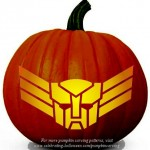 Halloween Transformers Stencil 11 – Free Pumpkin Carving Stencil/Pattern