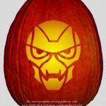 Halloween Transformers Stencil 12 – Free Pumpkin Carving Stencil/Pattern