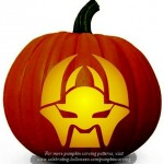 Halloween Transformers Stencil 15 – Free Pumpkin Carving Stencil/Pattern