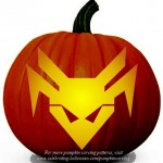 Halloween Transformers Stencil 16 – Free Pumpkin Carving Stencil/Pattern