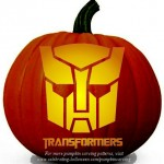 Halloween Transformers Stencil 2- Free Pumpkin Carving Stencil/Pattern