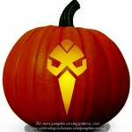 Halloween Transformers Stencil 3 – Free Pumpkin Carving Stencil/Pattern