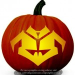 Halloween Transformers Prime Stencil 5 – Free Pumpkin Carving Stencil/Pattern