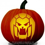 Halloween Transformers Stencil 8 – Free Pumpkin Carving Stencil/Pattern