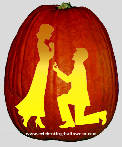 The Proposal - Pumpkin Carving-Stencil
