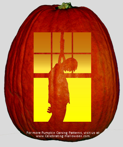 Man Pumpkin Carving Ideas Hanged Man Pumpkin Carving