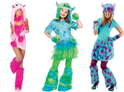 monster costumes for women  sc 1 st  Celebrating Halloween & Colored Gloves Add the Finishing Touch to Any Halloween Costume ...