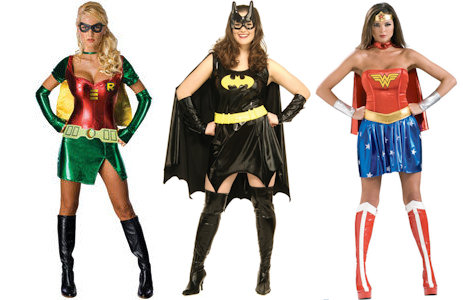 women super hero costumes