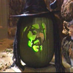 Green Witch Pumpkin Carving Idea