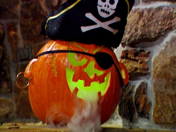 Free Pirate Pumpkin Carving Pattern