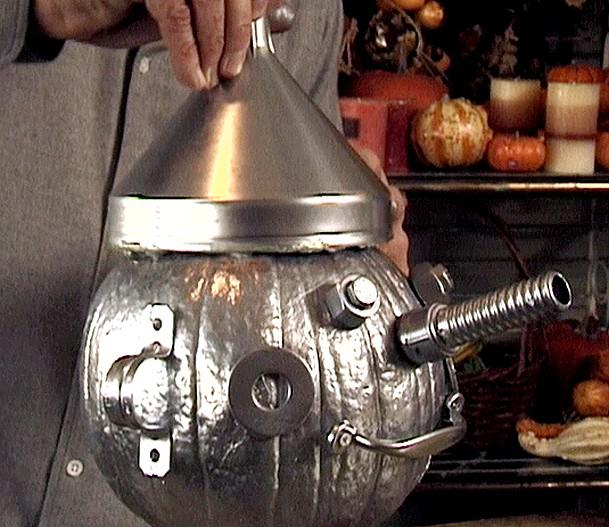 Man Pumpkin Carving Ideas Tin Man – no Carving Pumpkin