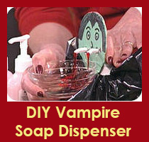 DIY Vampire Soap Dispenser