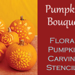 Pumpkin Bouquet – Flower Pumpkin Carving Patterns