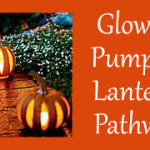 Glowing Pumpkin Lanterns Pathway – Outdoor Halloween Decorating