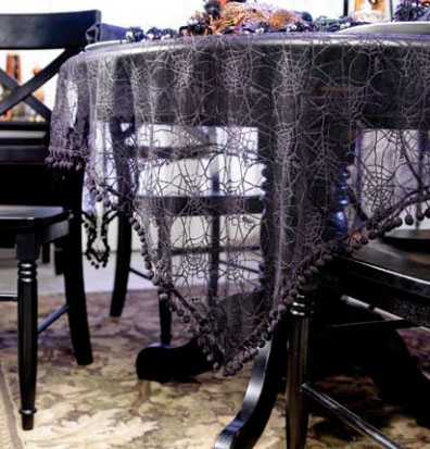 Spider Webs Table Cloth