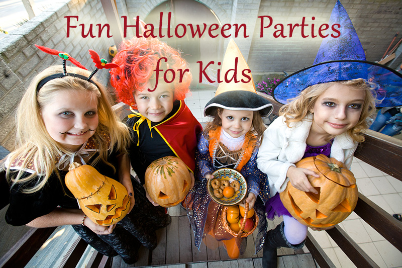 Fun Halloween Parties for Kids